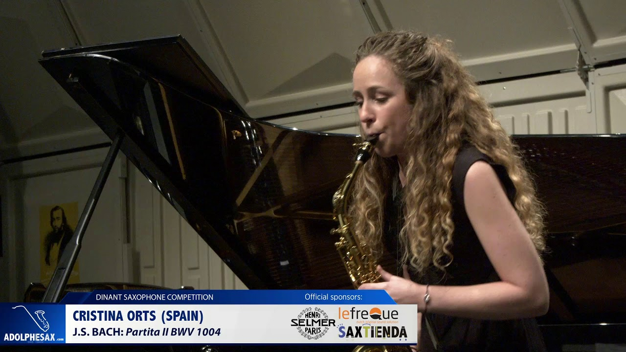 Cristina Orts (Spain) - Partita II BWV 1004 by J.S.Bach (Dinant 2019)