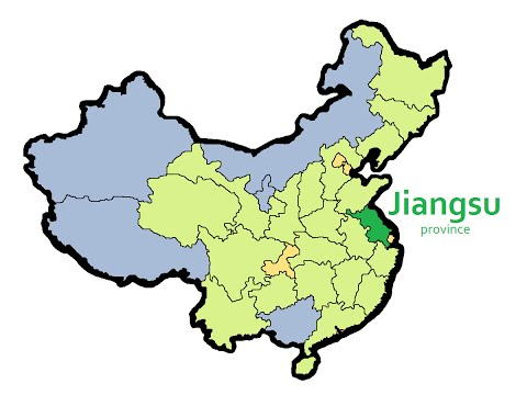 33 Provinces and Regions of China