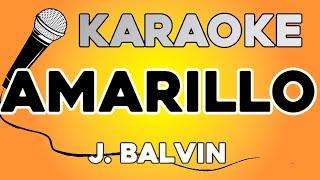 KARAOKE (Amarillo - J Balvin)