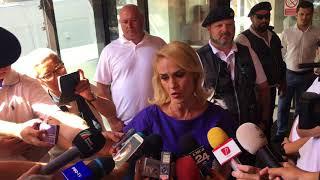Declaratii Gabriela Firea la inceputul sedintei CEx a PSD
