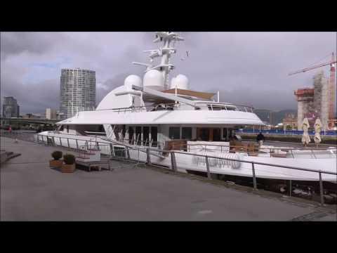 Jamaica Bay Motor Yacht calls into Belfast