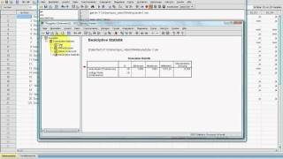 SPSS Video-Seminar #  Teil 61: Syntax 9 Befehl: OMS-Steuerung