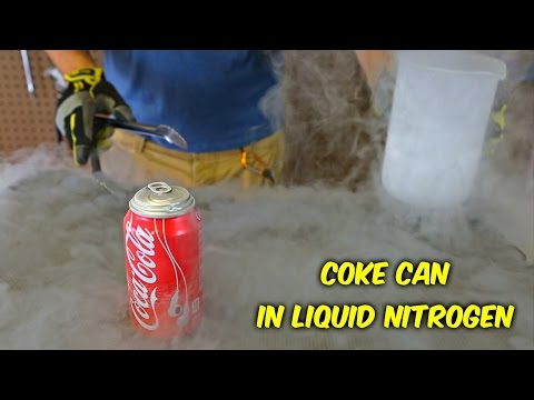 Thumbnail: What Happens If You Put Coke Can in Liquid Nitrogen