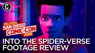 Spider-Man: Into the Spider-Verse Footage Review - SDCC 2018