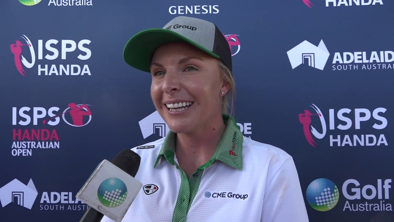 Sarah Kemp After The 2019 Womensausopen Youtube
