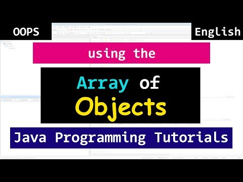 #12 Java Array of Objects | Object Oriented Programming Tutorials for Beginners