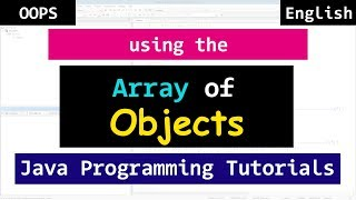 Array of Objects in Java | Object Oriented Programming Tutorial