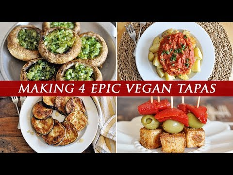 4 Spanish VEGAN Tapas YOU HAVE TO TRY