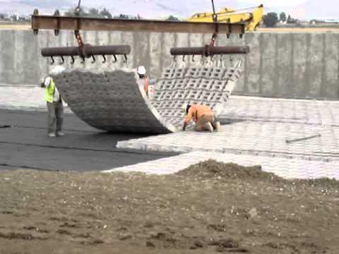 Instalaci 243 N De Tapetes De Concreto Mpg Youtube