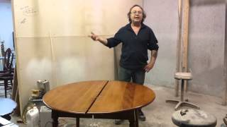 Refinishing A Cherry Dining Room Table  Timeless Arts Refinishing