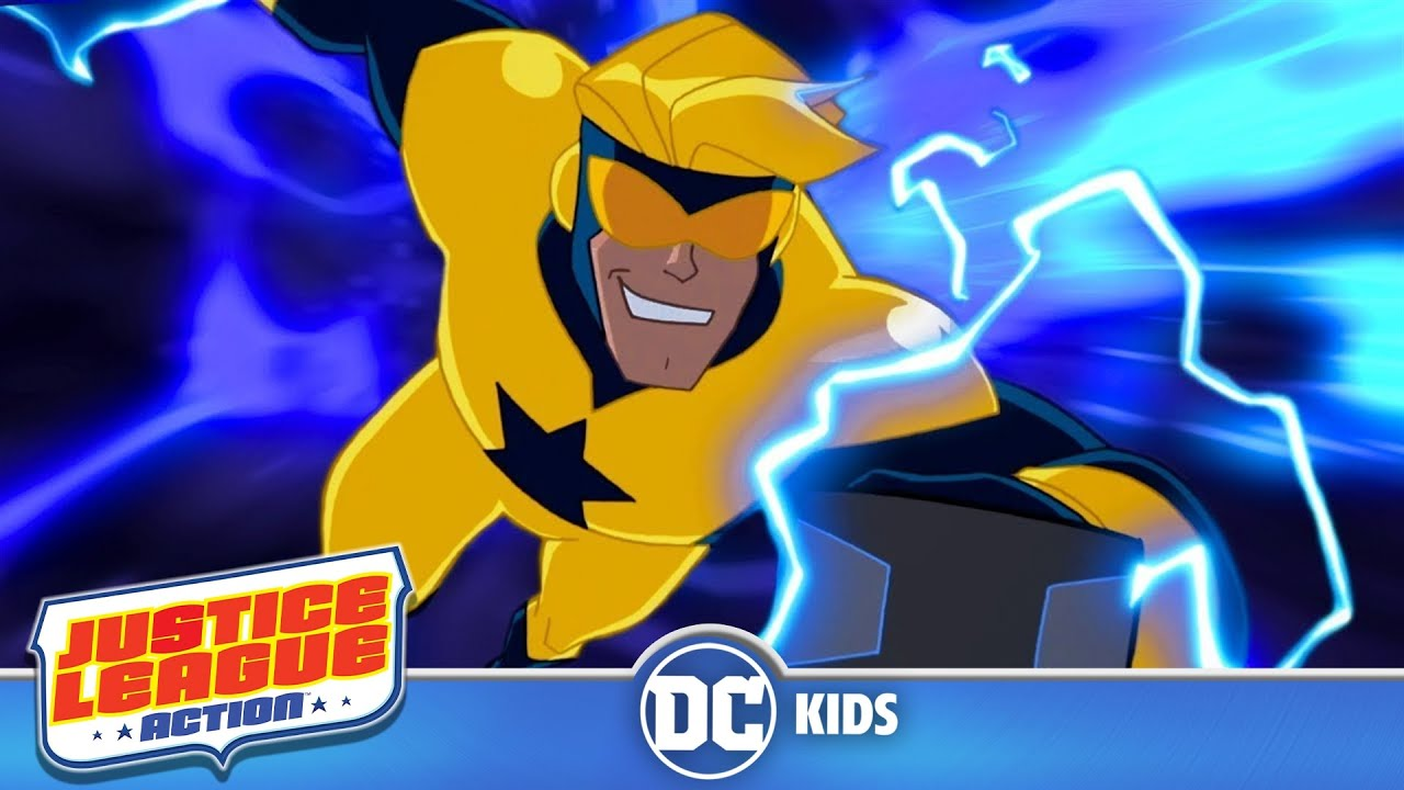 Justice League Action | It's Booster Time! | DC Kids