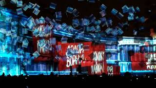 Фестиваль света Лазерное шоу на Дворцовой в Санкт-Петербурге 2017 #ИдиНаСвет