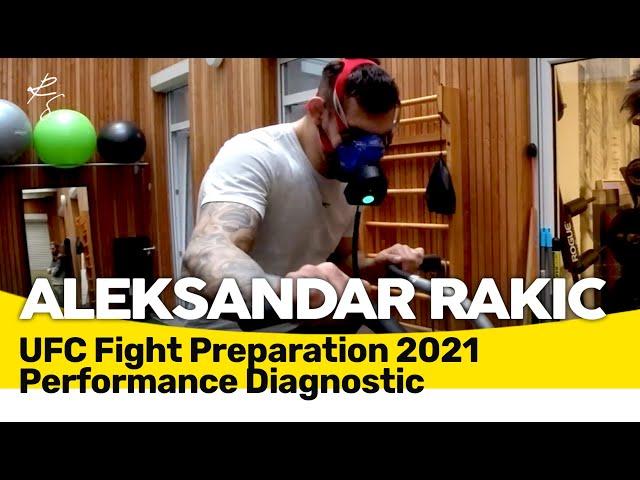 Aleksandar Rakic - Komplette physische Leistungsdiagnostik für UFC Fight in März 2021 🇲🇪🇧🇦🇷🇸🇭🇷 Subs!