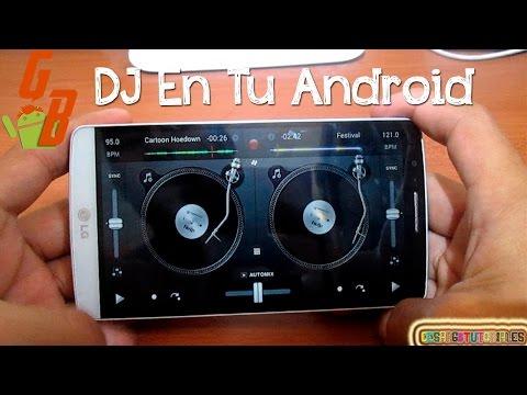 Mezclador de DJ para Android El Mejor 2018 - CesarGBTutoriales