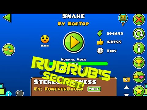 I Found Something On ROBTOP'S Level!!!! 2.2 Information!!!