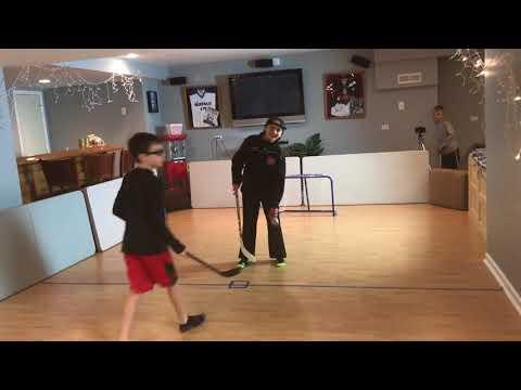 Kids HocKey Huge Knee Hockey Tournament