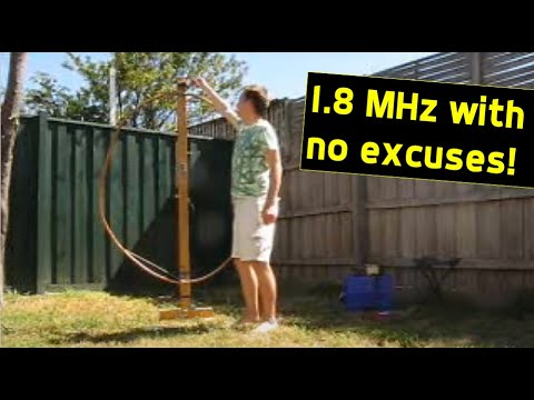 160 metres AM with compact magnetic loops