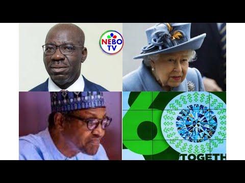 Buhari Said, Edo Election Shaped Democracy In Nigeria;The Queen Of England Celebrates Nigeria On 60