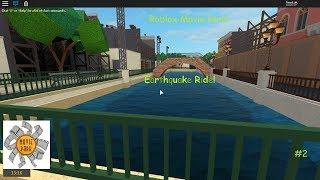 Roblox | Movie Park | #2 - Earthquake Ride!