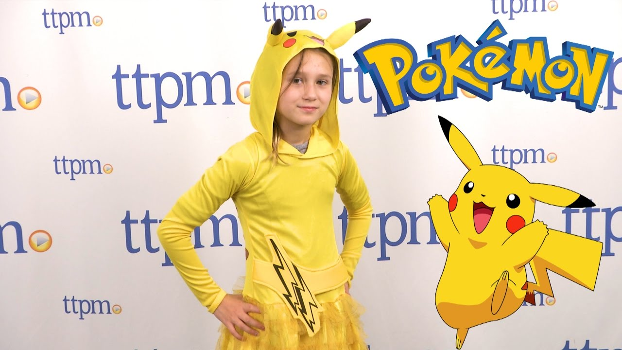 costume Pokemon pikachu girls