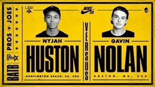 Nyjah Huston Vs Gavin Nolan: BATB7 - Round 1
