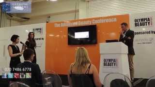 Cosmetic Surgeon Mr Miles Berry at the Advanced Beauty conference 2015