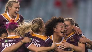 NRLW Highlights: Sydney Roosters v Brisbane Broncos - Round 2