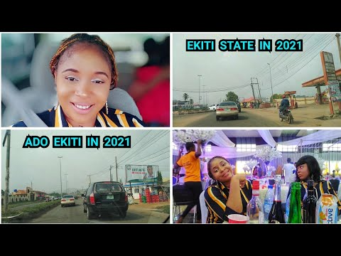 Download My visit to EKITI STATE NIGERIA IN 2021 |ADO EKITI TOWN TOUR + LIT NIGERIAN Wedding | Travel vlog