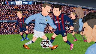 vuclip Parodia animada del Barcelona 1-0 Manchester City 18/3/2015