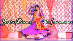 Bride's surprise perf made Groom Emotional   Nainon wale ne/Leja re/Unglich ring daalde  JasSun