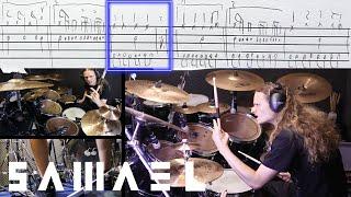 SAMAEL - My Saviour drum cover (notation, score, transcriptions)