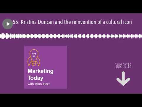 55: Kristina Duncan and the reinvention of a cultural icon