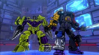 Transformers Devastation Boss Fight Devastator Menasor