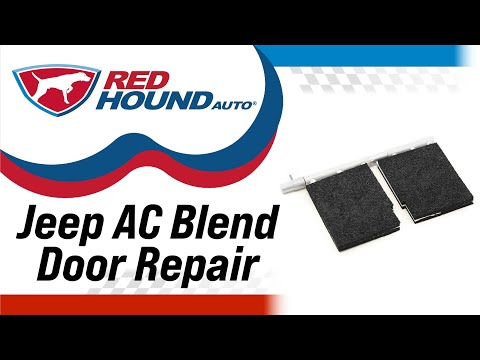 Heater AC Blend Door RePair Kit Compatible With Jeep Grand Cherokee Automatic Dual Zone Control