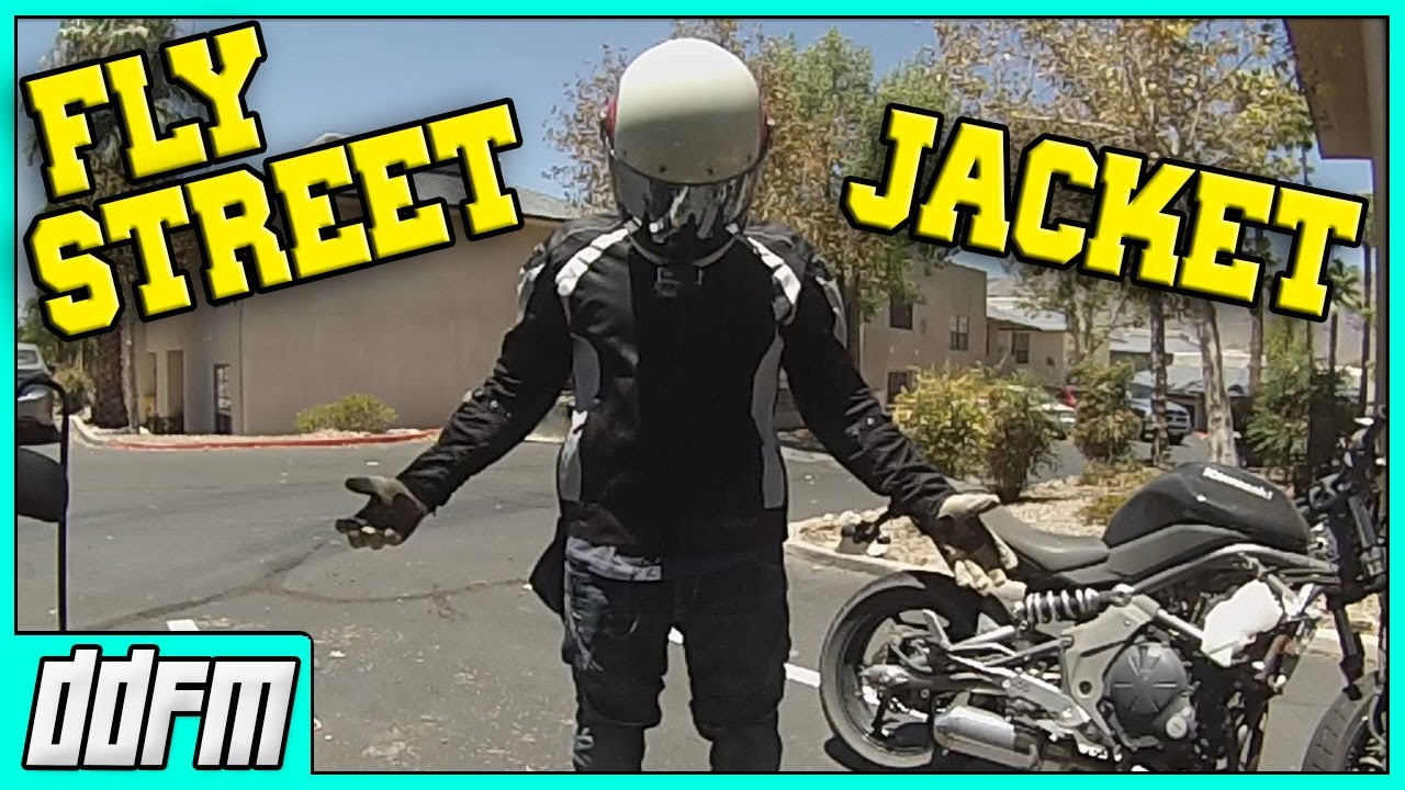 472e1ebfb6b45 Fly Street Cool Pro Mesh Jacket First Impressions - YouTube