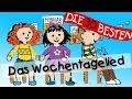 Wochentagelied - Wissenslieder für Kleinkinder || Kinderlieder