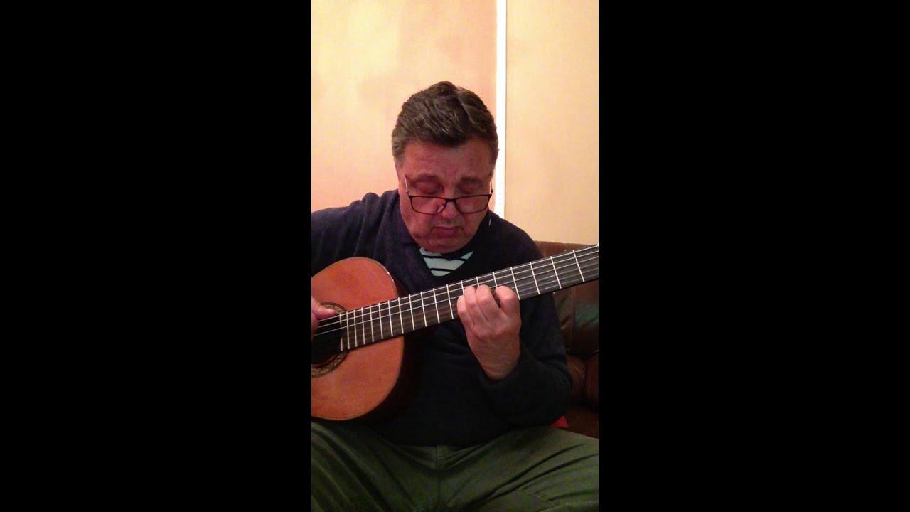 Mona Lisa on classical guitar - YouTube