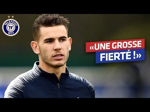 """Equipe de France - Lucas Hernandez : """" Une année incroyable"""""""