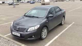 Toyota Corolla робот. Отзыв. После 123 т. км.(, 2015-04-04T16:38:05.000Z)
