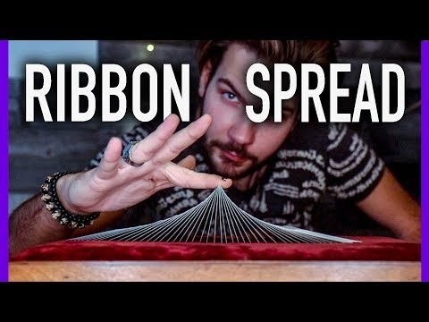 How to be a BADASS with Cards FAST! - (ribbon spread tutorial)