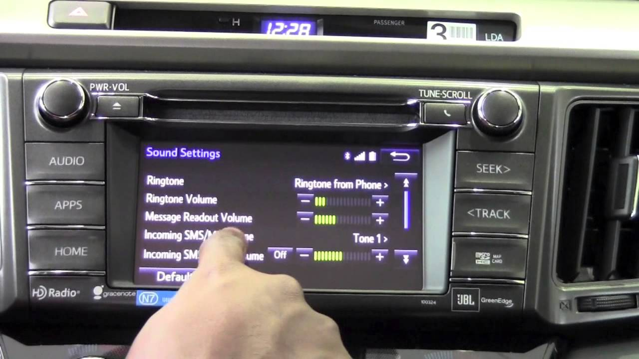 2014 Toyota Rav4 Phone Sound Settings How To By Brookdale