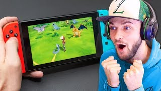 *NEW* Pokemon Nintendo Switch TRAILER! - (Pokemon Let's Go)