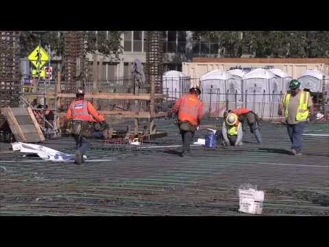 Building the Foundation for the New Stanford Hospital