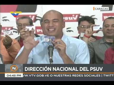 Héctor Rodríguez, rueda de prensa del PSUV, 10 de julio de 2017