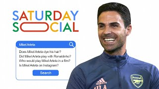 Mikel Arteta Answers the Web's Most Searched Questions About Him | Autocomplete Challenge