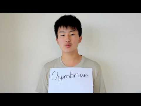 Header of opprobrium