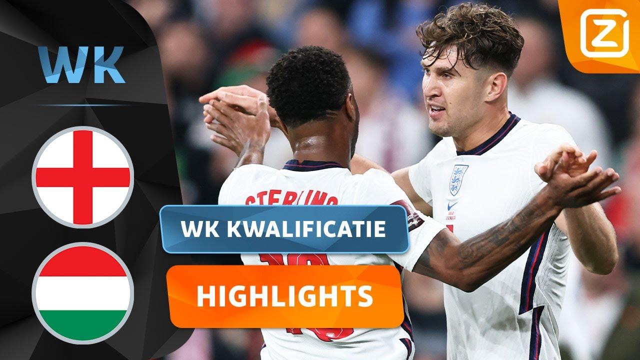 VRIJE TRAP WORDT GOED BENUT! 🥳   Engeland vs Hongarije    Kwalificatie WK 2022   Samenvatting