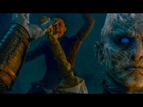 Ария убивает Короля Ночи | Игра Престолов