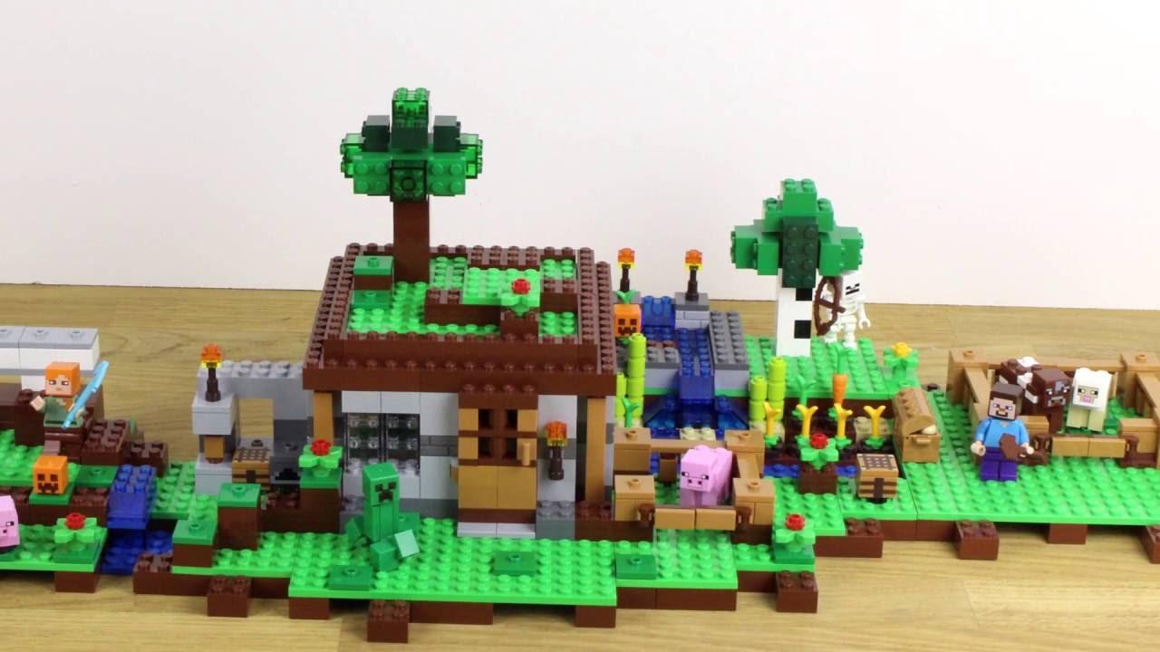 how to make a lego minecraft mini iron golem