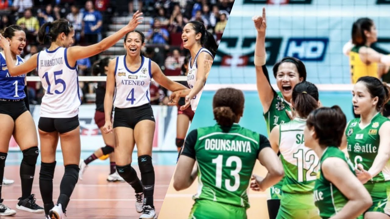 Uaap Season 82 Ateneo Vs Lasalle Game Highlights Volleyball Championship Prediction Game Youtube